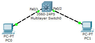 how to create local darabase in packet tracer
